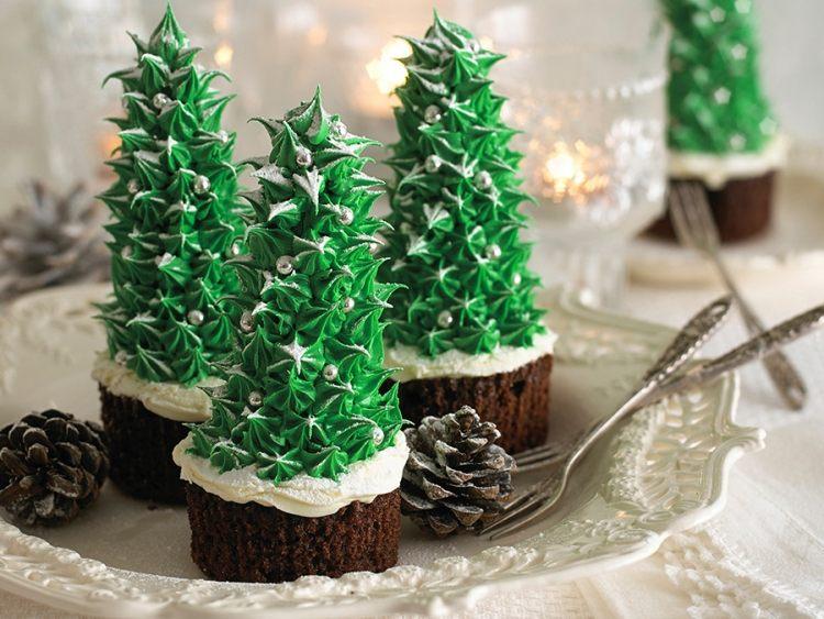 Cupcakes Fr Weihnachten 30 Ideen Fr Coole Toppings