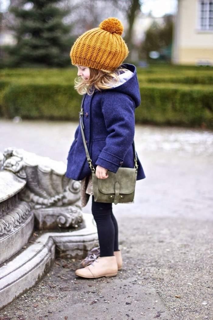 Winter Outfits fr Mdchen  15 stilvolle Ideen fr Ihre