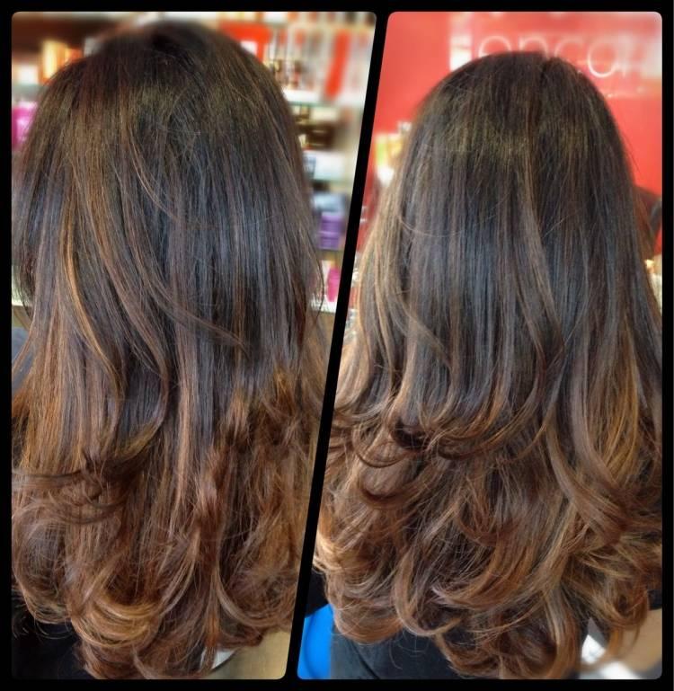 Stufenschnitt Frisuren Lange Haare
