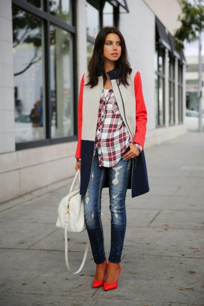 Karierte Mode  26 angesagte StylingIdeen zum Nachmachen