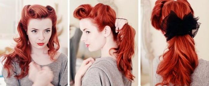 Rockabilly Frisuren Hübsche Varianten Und DIY Anleitungen