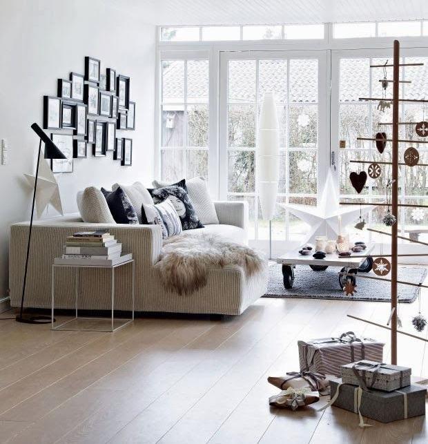 38 Weihnachtsdeko Ideen mit skandinavischem Flair