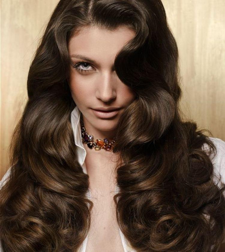 Passende Frisuren Für Braunes Haar 33 Schöne Starlooks