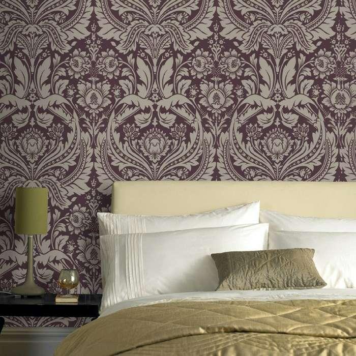 Barock Tapete  prunkvolle Wandgestaltung