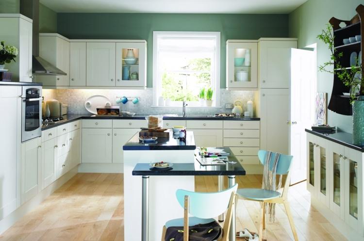 Holzfronten Küche Streichen   Kostenlose Küchenbilder ...