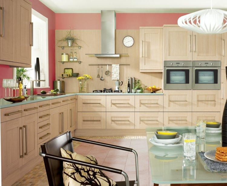 Farbe fr Kche  Kchenwand in Kontrastfarbe streichen