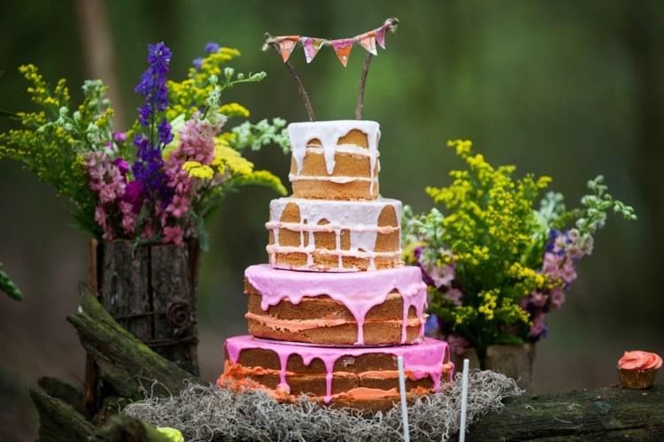 Hochzeitstorte mit Frchten  15 leckere Ideen