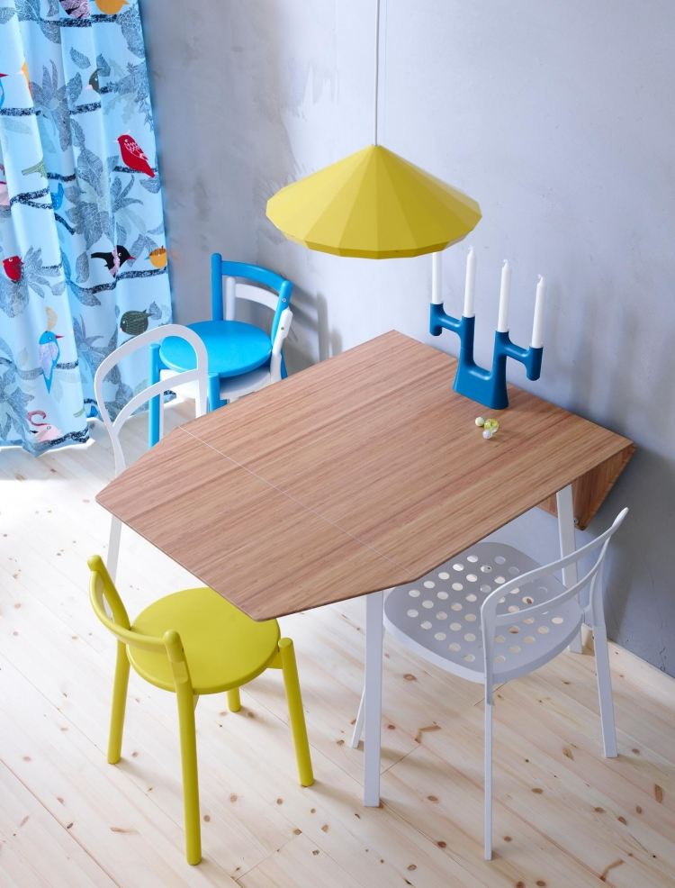 ikea esstisch beispiele skandinavisch. Black Bedroom Furniture Sets. Home Design Ideas