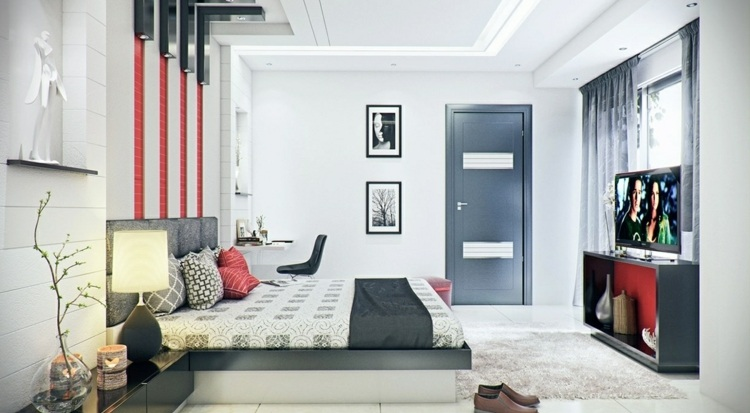 Modernes Schlafzimmer Design Fur Grose Familien | Möbelideen