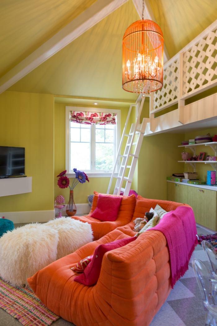 Jugendzimmer mit Dachschrge  35 Ideen fr die Gestaltung
