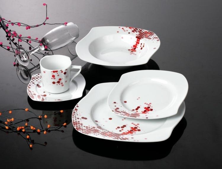 Porzellan Geschirr  traditionelles und stilvolles Geschenk