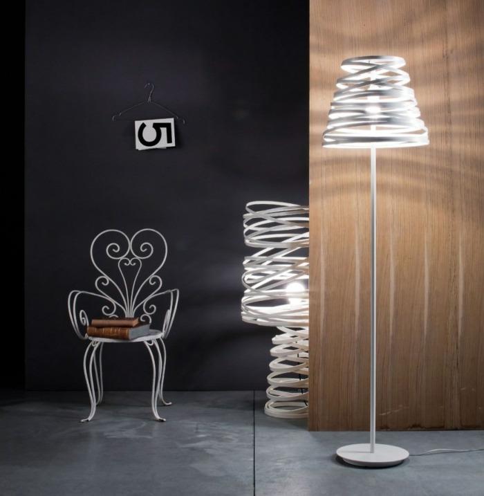 Stehlampen modern  Designer Leuchten im Spotlicht