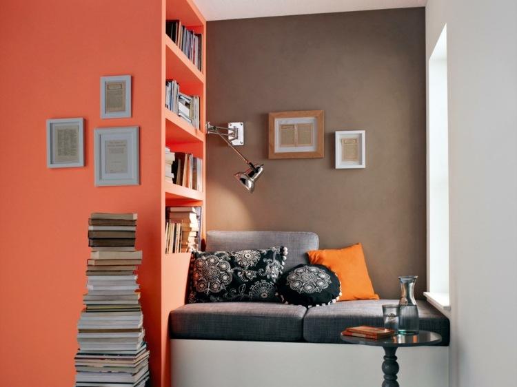 Wandfarben Inspiration  25 Ideen fr Wandgestaltung