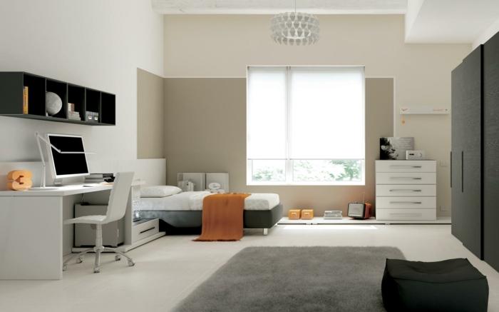 Jugendzimmer Jungen mit modernem Design