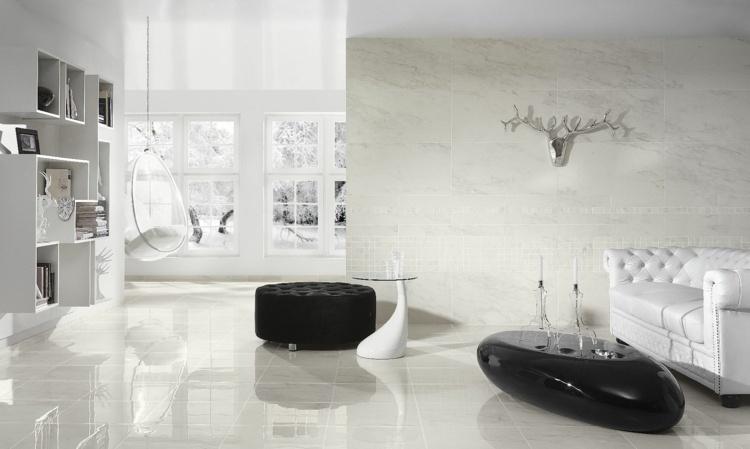 moderne bodenbelage wohnzimmer kommode moderne hangelampe ... - Wohnzimmerbodenfliesen