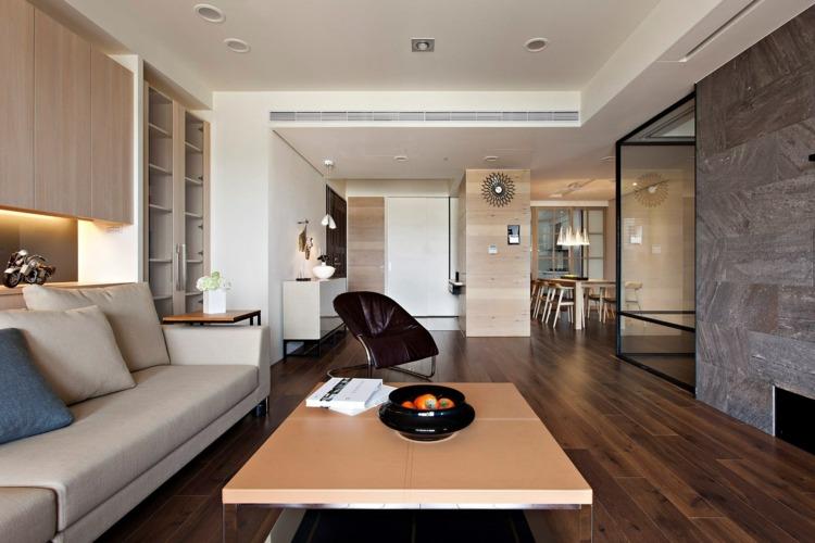emejing wohnzimmer ideen steinwand ideas - unintendedfarms, Wohnideen design