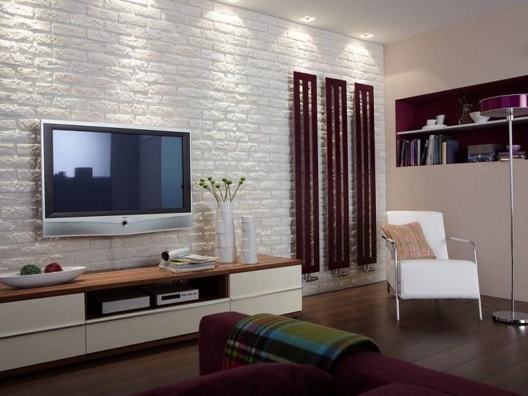 steinwand wohnzimmer hornbach noveric for - boisholz - Schiefer Wandverkleidung Wohnzimmer
