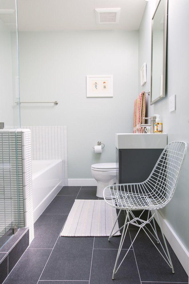 Ins Badezimmer ohne Fenster einen Blickfang bringen