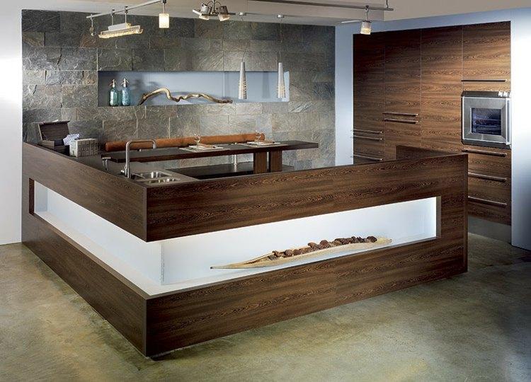 Kuche Einzigartige Design Kuchen Abseits Standards L » Terrassenholz, Möbel
