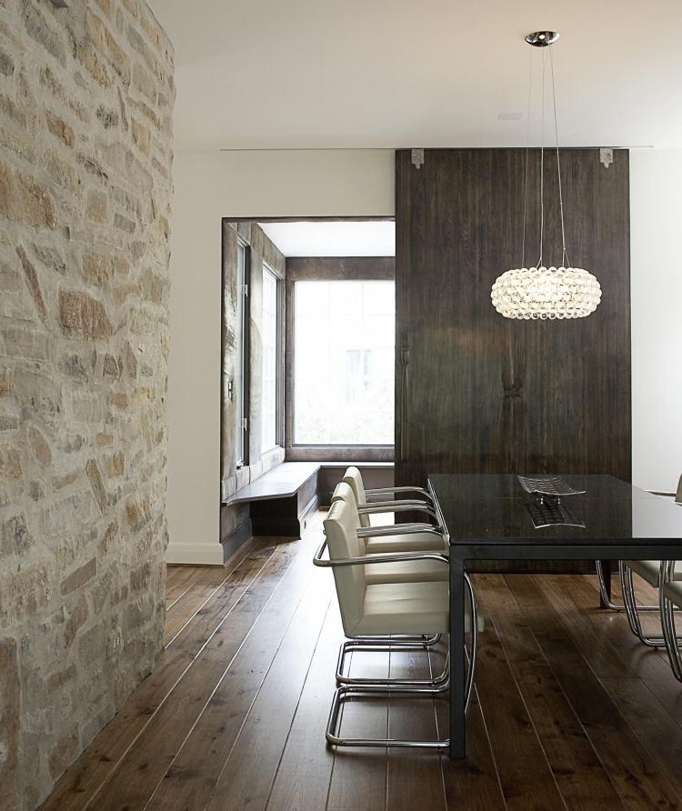 Wandgestaltung im Esszimmer 25 originelle Designs  Ideen
