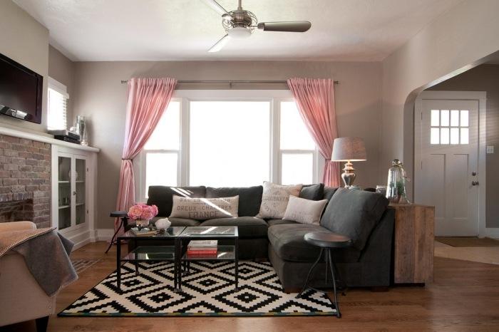 Wohnzimmer Vorhnge  Inspirierende Einrichtungsideen