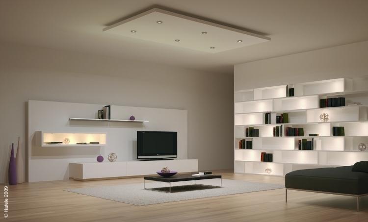 wohnzimmer wohnwand ideen - boisholz - Wohnzimmer Ideen Fernseher