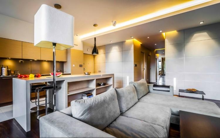 wohnzimmer mit led beleuchtung – abomaheber