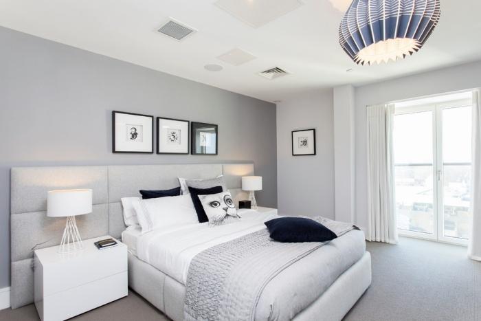 Schlafzimmer Farben Ideen fr mehr Weite und Offenheit