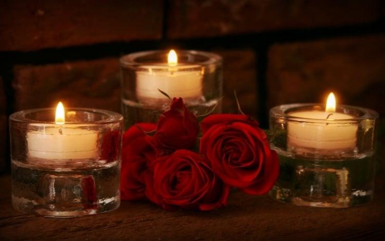 Romantisches Schlafzimmer Mit Kerzen   Dein Romantischer