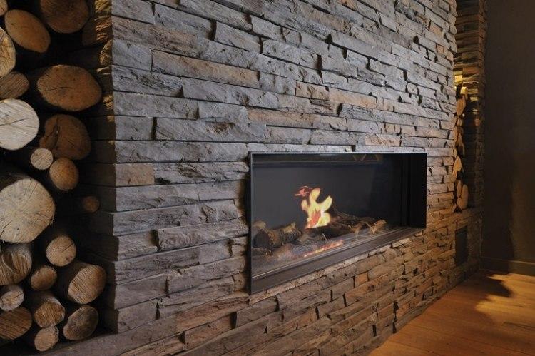 steinwand deko - tyentuniverse - Wohnzimmer Steinwand Grau