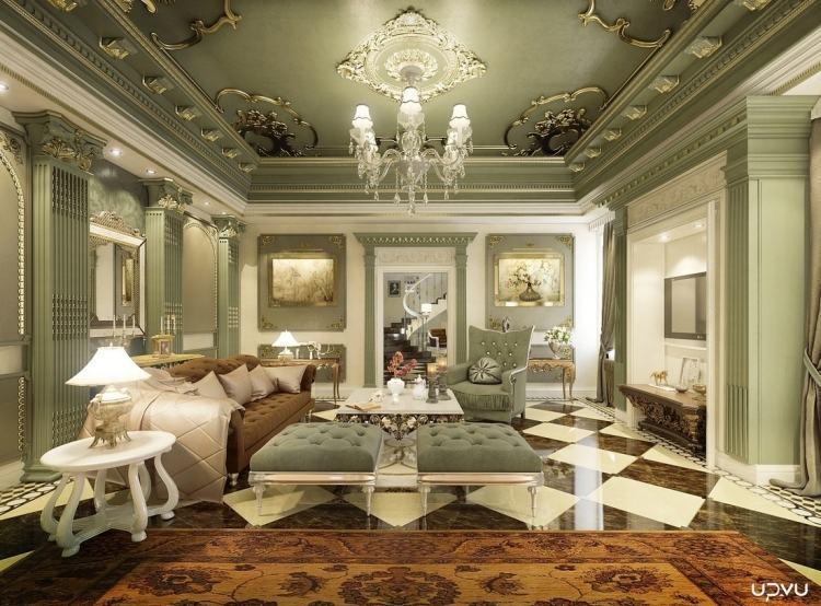 Wohnzimmer Klassik - Design