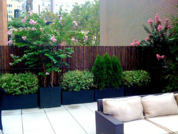 Bambus Sichtschutz Garten Zaun Gartenzaun Windschutz Bambuszaun Anji