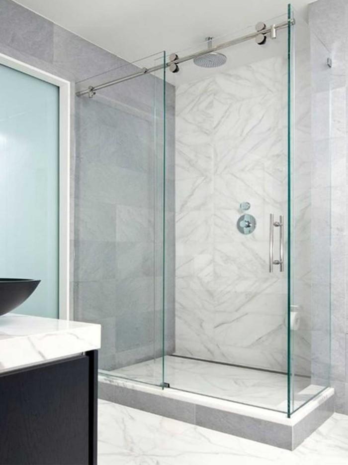SchiebetrDuschkabinen fr moderne Badezimmer