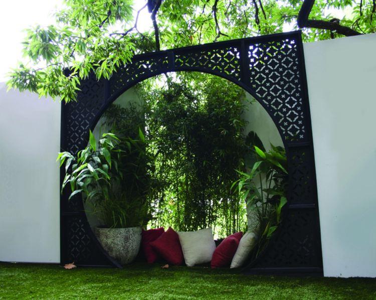 Sichtschutz Für Garten Selber Bauen Holz Glas Oder Metal