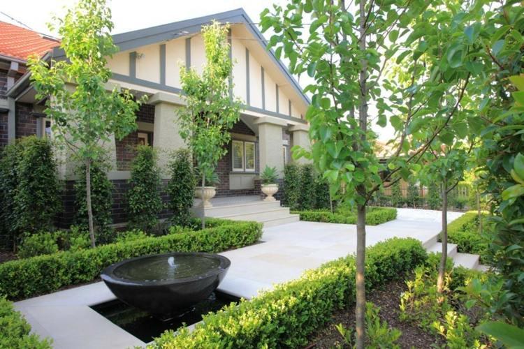 gartengestaltung pflege landschaftsbau vorgartengestaltung bilder,