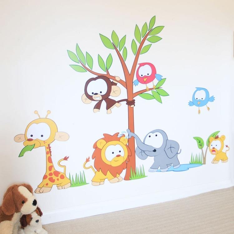 Wandtattoo im Kinderzimmer  Welche Themen sind beliebt