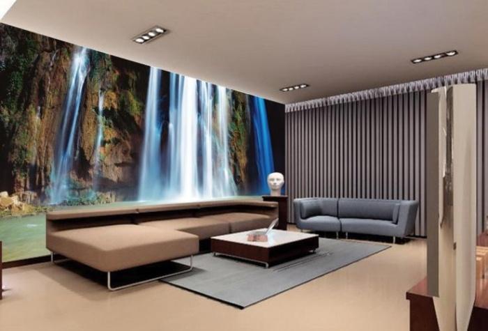Tv Wand Gestalten | 30 Kleine Schlafzimmer, Die Modern Und ...
