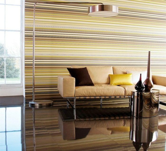 wohndesign 2017 : interessant coole dekoration wohnzimmer gelb ...