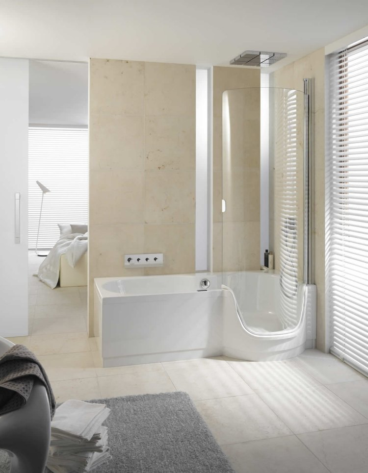 Badezimmer Dusche Badewanne – Home Sweet Home