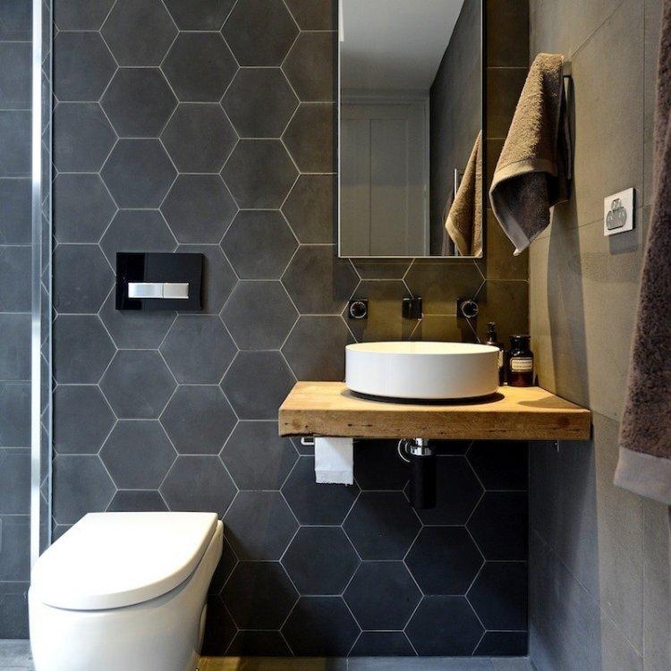 Beispiele fr Badezimmer Fliesen  35 originelle Inspirationen