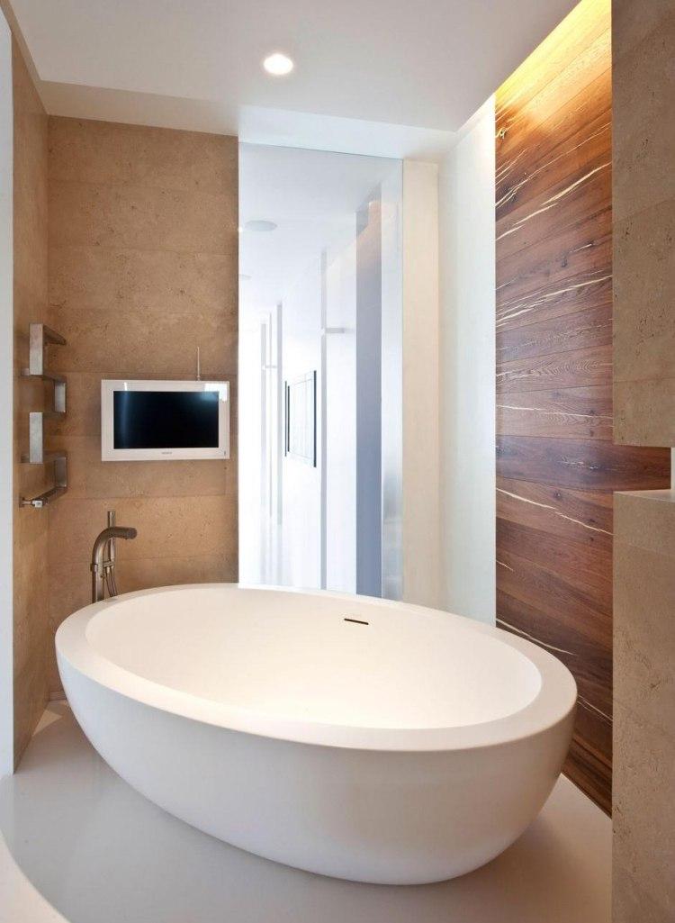 Badezimmer Wandverkleidung Holz
