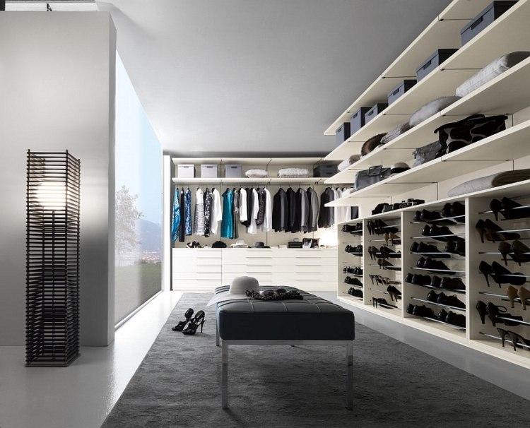 Begehbarer Kleiderschrank Nicchia mit Modular System