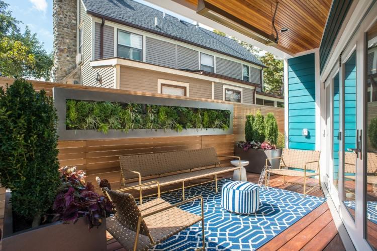 landscaping ideas for backyards on a budget backyard seating ideas, Terrassen deko