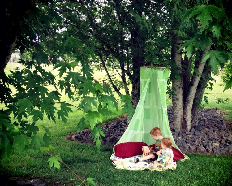 Spielgerte im Garten selber bauen  Upcycling Ideen