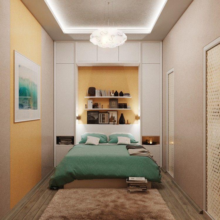 30 kleine Schlafzimmer die modern und kreativ gestaltet sind