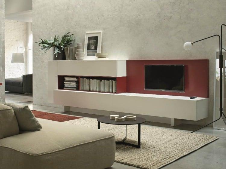 Moderne Wohnzimmermbel  13 Ideen aus Italien