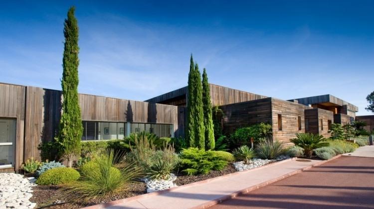 vorgarten architektur » terrassenholz, Garten dekoo