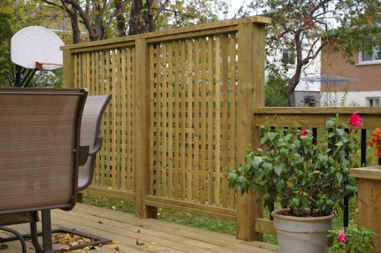 terrassen sichtschutz deko varianten | möbelideen - Erfolgreiche Party Im Garten Organisieren
