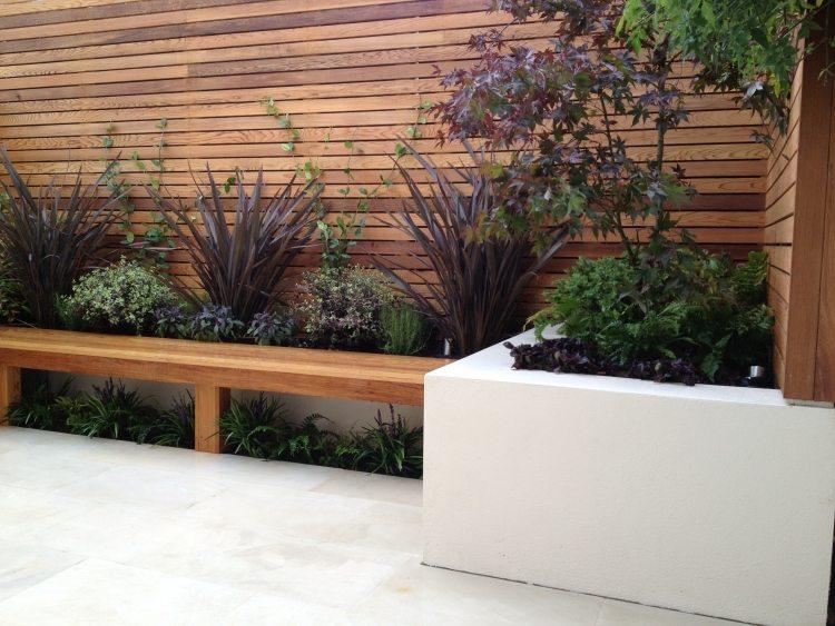 terrassen sichtschutz mit paravents | sichtschutz, Terrassen ideen