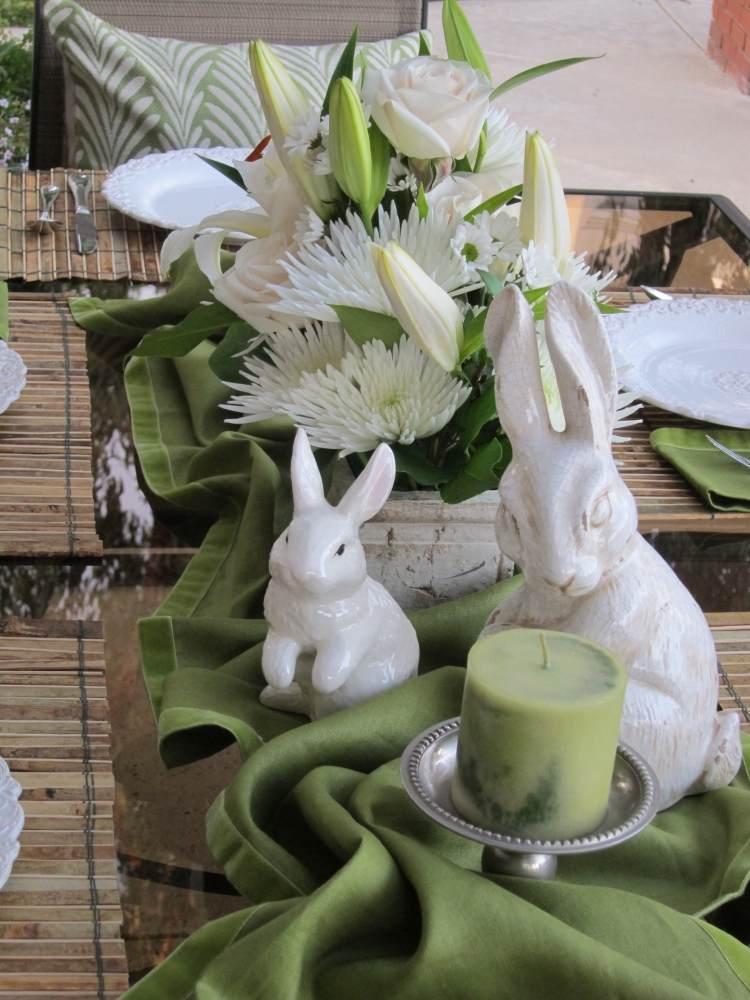 Tischdeko zu Ostern basteln  30 frhliche Ideen fr das Fest
